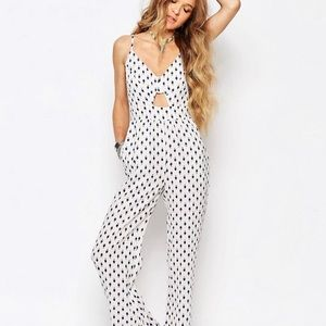 Glamorous Festival Jumpsuit With Cutout Detail NWT